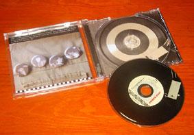 CD  color - caja con bandeja transparente - librillo color - contraportada 2 caras color
